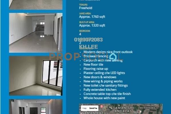 For Sale Terrace at Taman Klang Jaya, Klang Freehold Semi Furnished 4R/2B 480k