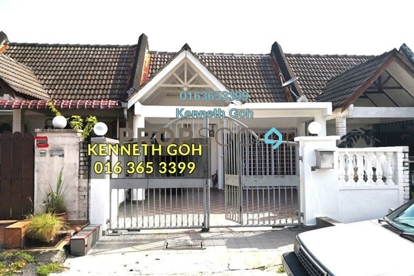 For Sale Terrace at BK2, Bandar Kinrara Freehold Semi Furnished 3R/2B 550k