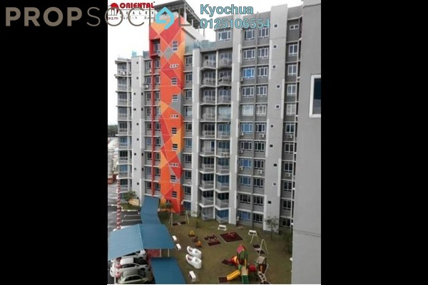 For Rent Condominium at Sky Garden Residences, Chemor Freehold Fully Furnished 2R/2B 1.05k