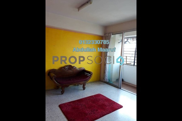 For Rent Apartment at Dahlia Apartment, Pandan Indah Freehold Semi Furnished 3R/2B 1.4k