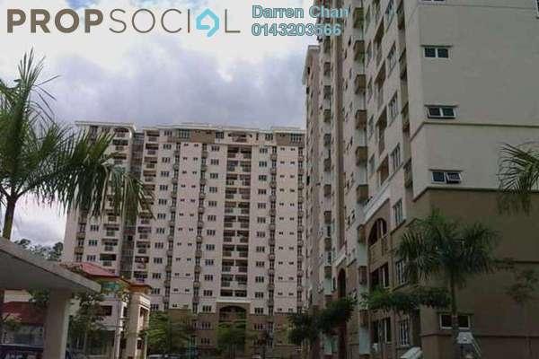 For Sale Apartment at Villa Pavilion, Seri Kembangan Freehold Semi Furnished 3R/2B 395k