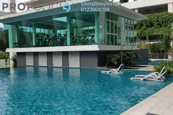 For Rent Condominium at Kiara Residence 2, Bukit Jalil Freehold Semi Furnished 3R/3B 1.6k