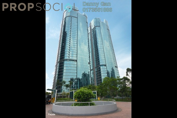 For Rent Office at The Vertical, Bangsar South Freehold Fully Furnished 0R/0B 74.4k