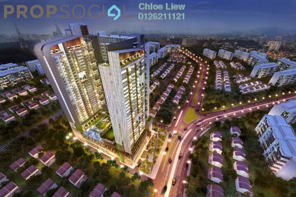 For Rent Apartment at D'Sands Residence, Old Klang Road Freehold Fully Furnished 2R/1B 2k