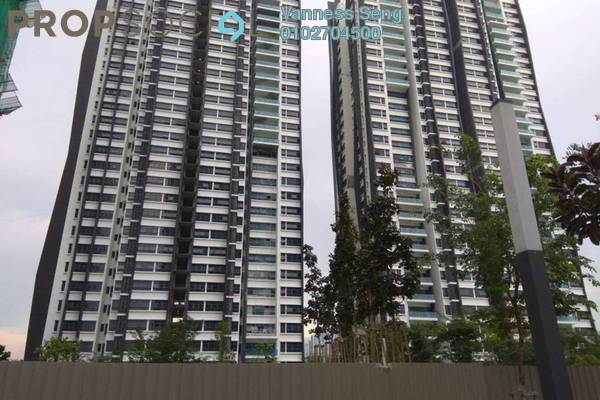 For Rent Condominium at Lakeville Residence, Jalan Ipoh Freehold Semi Furnished 3R/2B 1.7k