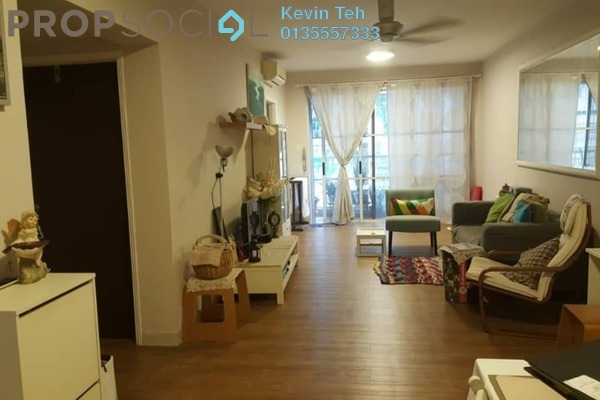 For Sale Condominium at Laman Suria, Mont Kiara Freehold Fully Furnished 2R/2B 650k