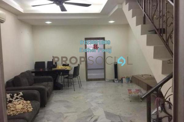 For Rent Terrace at Taman Sri Gombak, Batu Caves Freehold Fully Furnished 2R/2B 1.3k
