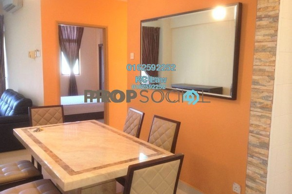 For Rent Condominium at Desa Villa, Taman Desa Freehold Fully Furnished 3R/2B 2.2k