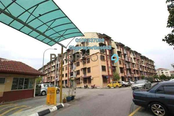 For Rent Apartment at Kasturi Tiara Apartment, Cheras South Freehold Unfurnished 3R/2B 950translationmissing:en.pricing.unit