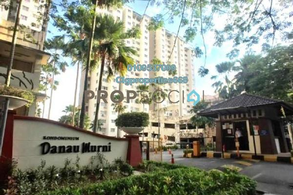 For Rent Condominium at Danau Murni, Taman Desa Freehold Unfurnished 3R/2B 1.1k