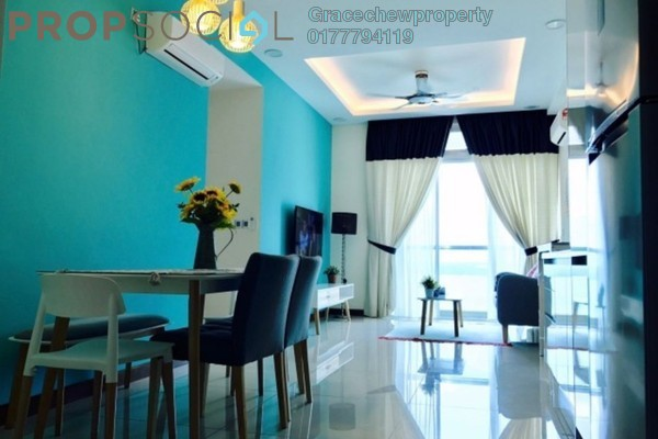 For Rent Serviced Residence at Paragon Residences @ Straits View, Johor Bahru Freehold Fully Furnished 3R/2B 2.6k