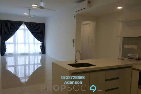 For Rent Condominium at Scenaria, Segambut Freehold Semi Furnished 3R/3B 2.4k