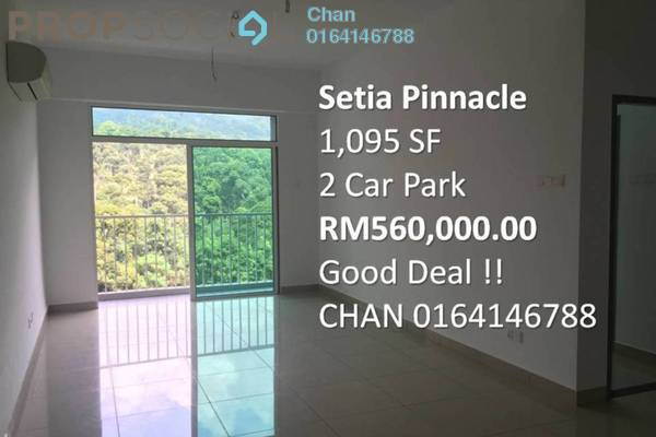 For Sale Condominium at Setia Pinnacle, Sungai Ara Freehold Unfurnished 3R/2B 560k