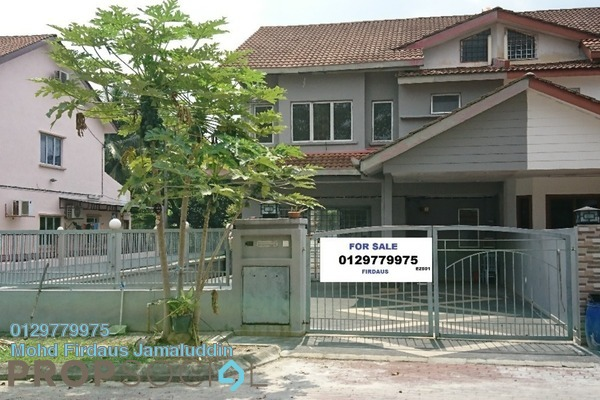 For Sale Terrace at Seksyen 32, Bukit Rimau Freehold Semi Furnished 4R/3B 890k