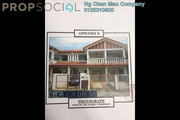 For Sale Townhouse at Bandar Country Homes, Rawang Freehold Semi Furnished 0R/0B 220k