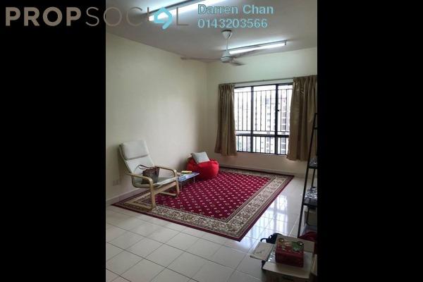 For Rent Condominium at Laman Midah, Cheras Freehold Semi Furnished 3R/2B 1.2k