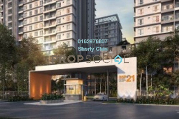 For Rent Serviced Residence at BSP 21, Bandar Saujana Putra Freehold Semi Furnished 3R/2B 1.3k