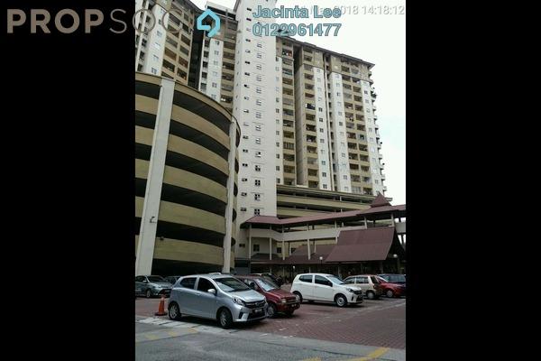 For Sale Condominium at Vista Mutiara, Kepong Leasehold Semi Furnished 3R/2B 336k