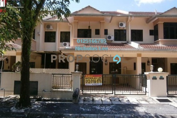 For Sale Terrace at Meru Valley Golf and Country Club, Ipoh Freehold Unfurnished 5R/4B 630k