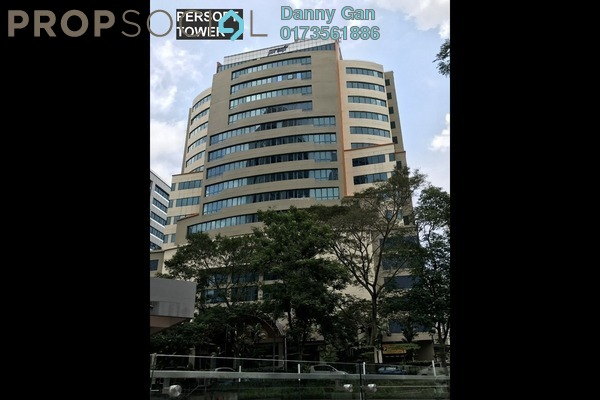 For Rent Office at Persoft Tower, Tropicana Freehold Semi Furnished 0R/0B 13.5k