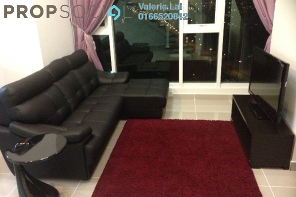 For Rent Duplex at The Scott Garden, Old Klang Road Freehold Fully Furnished 1R/2B 1.95k