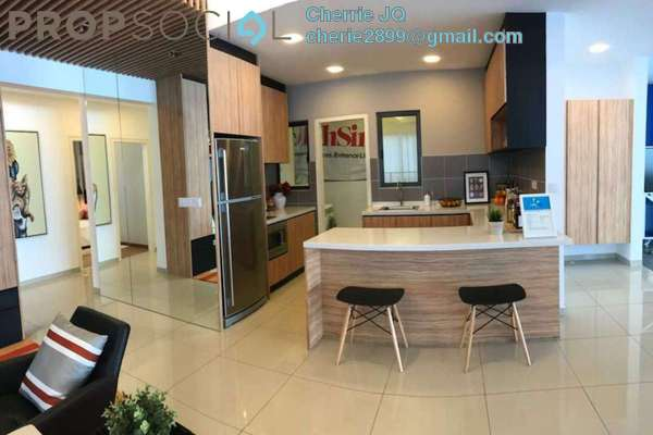 For Sale Condominium at Lakeville Residence, Jalan Ipoh Freehold Semi Furnished 3R/2B 920k