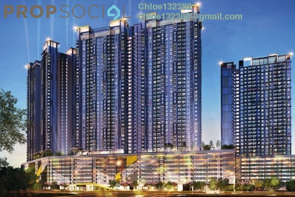 For Sale Condominium at PV18 Residence, Setapak Leasehold Unfurnished 3R/3B 480k