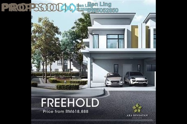 For Sale Terrace at Fellona, Bandar Sri Sendayan Freehold Unfurnished 4R/4B 619k