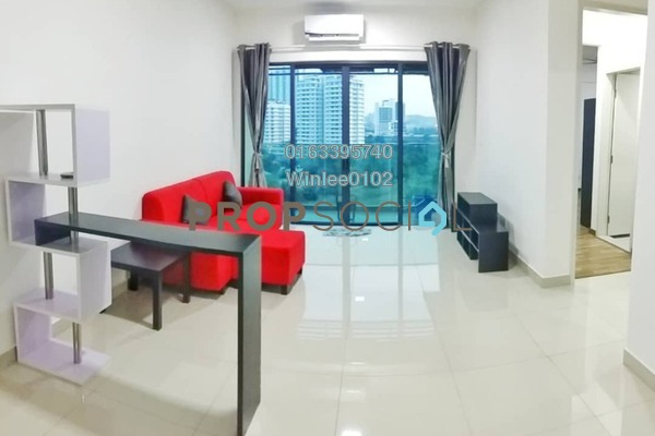 For Rent Condominium at Riverville Residences, Old Klang Road Freehold Fully Furnished 3R/3B 2.1k