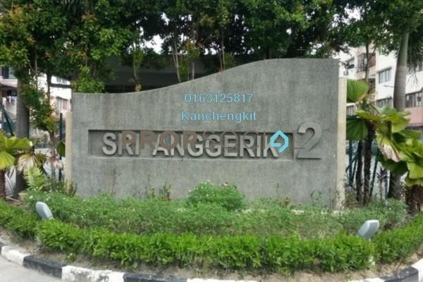 For Rent Apartment at Sri Anggerik 2, Bandar Kinrara Freehold Semi Furnished 3R/2B 700translationmissing:en.pricing.unit