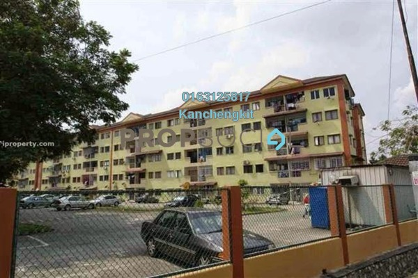 For Sale Apartment at Sri Anggerik 1, Bandar Kinrara Freehold Semi Furnished 3R/2B 190k