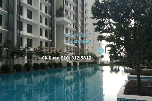 For Rent SoHo/Studio at Solstice @ Pan'gaea, Cyberjaya Freehold Fully Furnished 1R/1B 1.2k