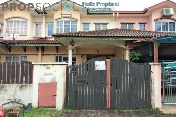 For Rent Terrace at Taman Sutera, Kajang Freehold Semi Furnished 4R/3B 1.3k