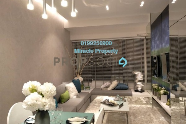 For Sale Serviced Residence at Greenfield Residence, Bandar Sunway Freehold Semi Furnished 2R/1B 421k