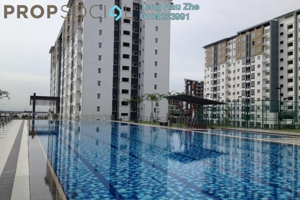 For Rent Condominium at Seri Baiduri, Setia Alam Freehold Semi Furnished 3R/2B 1k