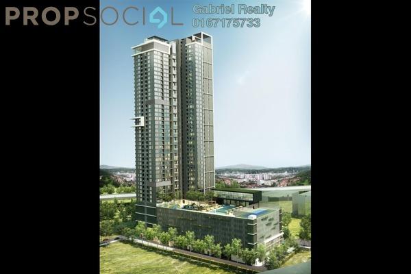 For Sale Condominium at Kuchai East, Kuchai Lama Freehold Semi Furnished 1R/1B 395k