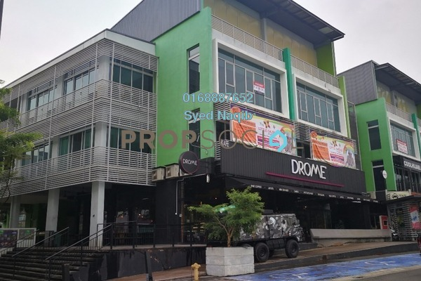 For Rent Office at D'Vida, Bukit Jelutong Freehold Unfurnished 0R/1B 3.5k