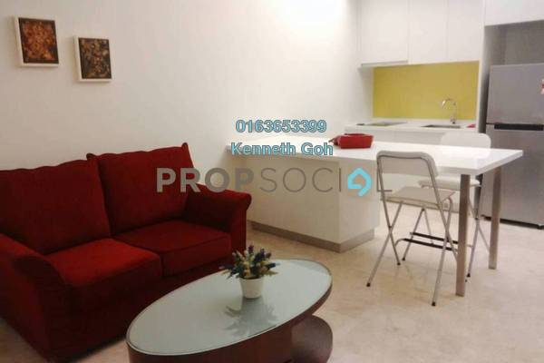 For Sale Serviced Residence at The Signature, Sri Hartamas Freehold Fully Furnished 1R/1B 525k