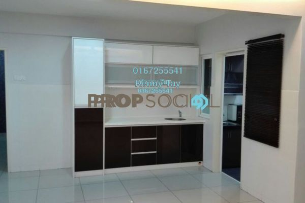 For Sale Condominium at First Residence, Kepong Freehold Semi Furnished 3R/2B 540k
