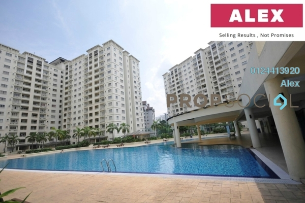 For Sale Condominium at SuriaMas, Bandar Sunway Freehold Semi Furnished 4R/2B 480k