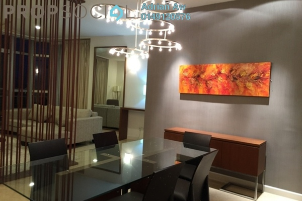 For Rent Condominium at Idaman Residence, KLCC Freehold Fully Furnished 3R/3B 3.8k