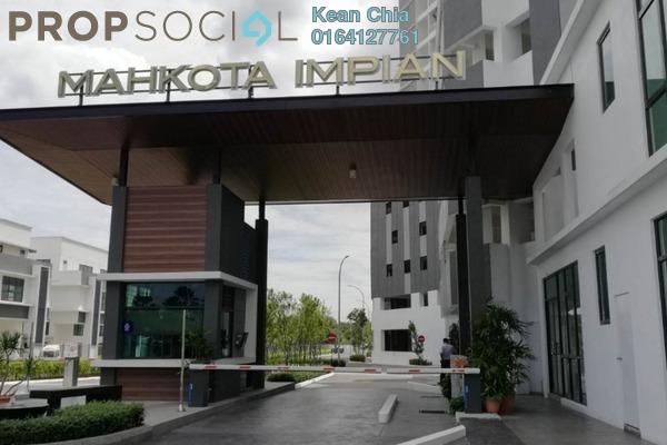 For Rent Condominium at Mahkota Impian, Bukit Minyak Freehold Unfurnished 3R/2B 1.2k