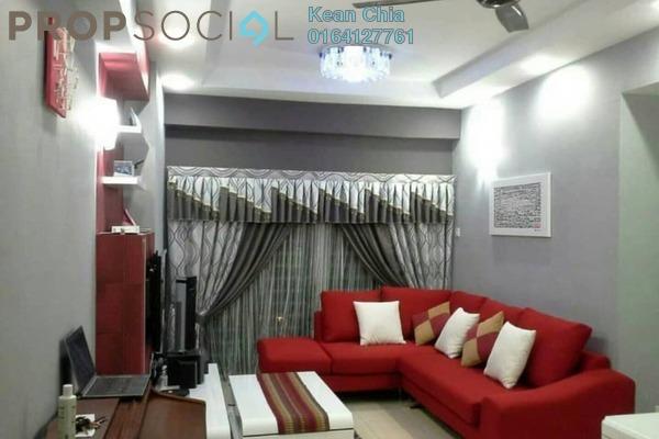 For Sale Apartment at Idaman Iris, Sungai Ara Freehold Semi Furnished 3R/2B 480k
