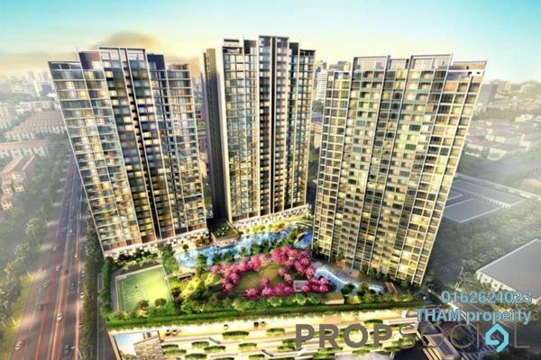 For Sale Serviced Residence at Greenfield Residence, Bandar Sunway Freehold Semi Furnished 2R/1B 450k