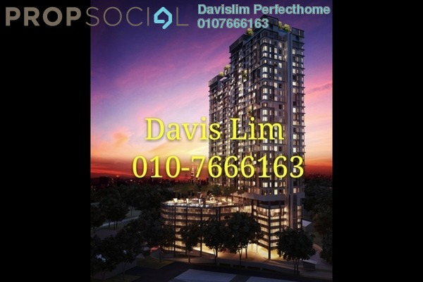 For Rent Condominium at D'Sands Residence, Old Klang Road Freehold Semi Furnished 2R/1B 1.5k
