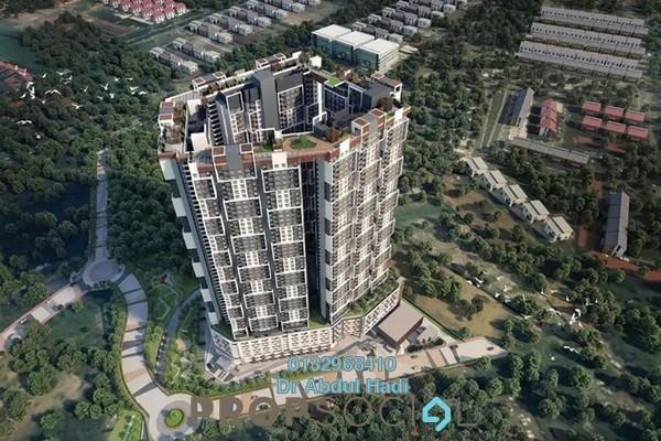 For Sale Condominium at Prima Setapak I, Setapak Freehold Unfurnished 3R/2B 300k
