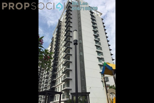 For Sale Serviced Residence at Spring Avenue, Kuchai Lama Freehold Semi Furnished 3R/2B 615k