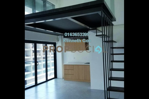 For Sale Duplex at Empire City, Damansara Perdana Leasehold Semi Furnished 1R/1B 388k