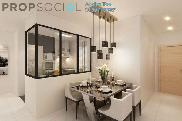 For Sale Serviced Residence at LakeFront Residence, Cyberjaya Freehold Fully Furnished 2R/2B 478k