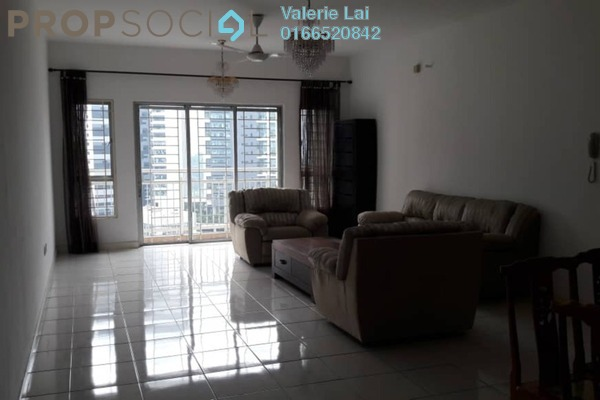 For Rent Condominium at Metropolitan Square, Damansara Perdana Freehold Semi Furnished 4R/3B 2.4k
